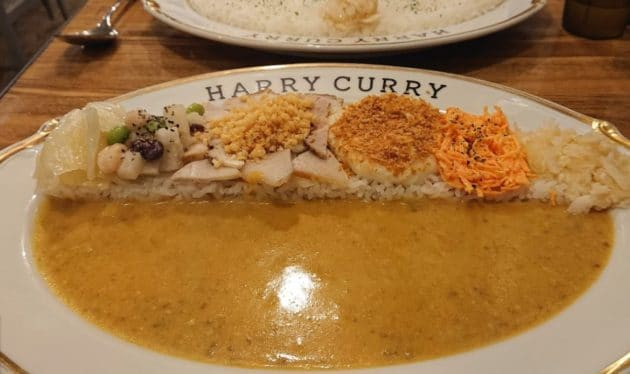 HARRY CURRYのカレー3