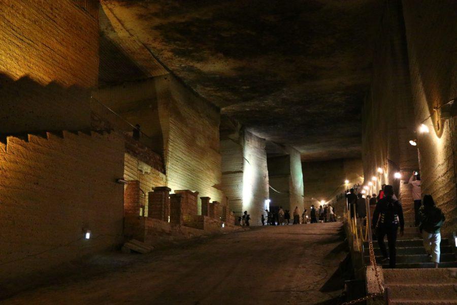 大谷資料館の地下坑内