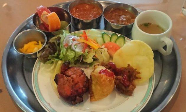 タージマハルのインド料理