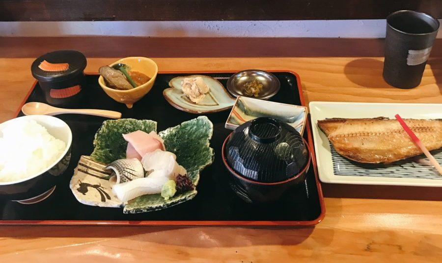 焼魚ランチ