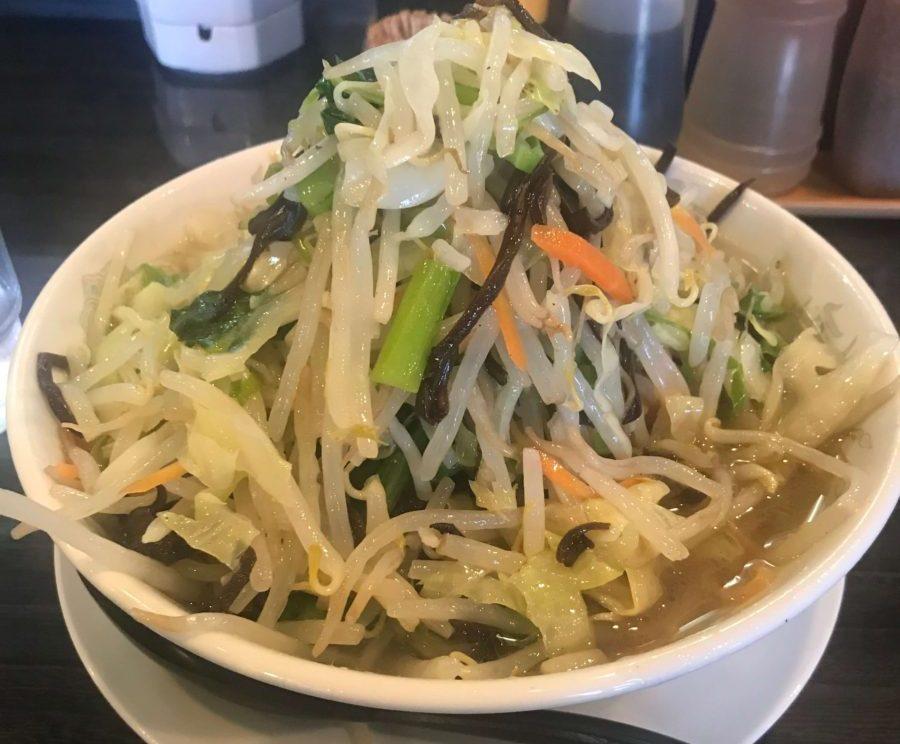 麵屋幸八の野菜ラーメン(塩)
