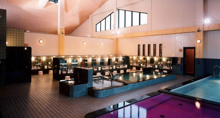 極楽湯宇都宮店の内風呂