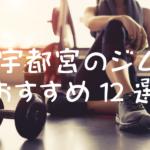 宇都宮のジムおすすめ12選