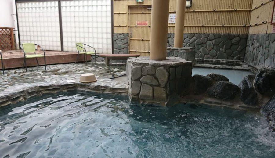 スーパー銭湯コール 宇都宮の湯の露天風呂