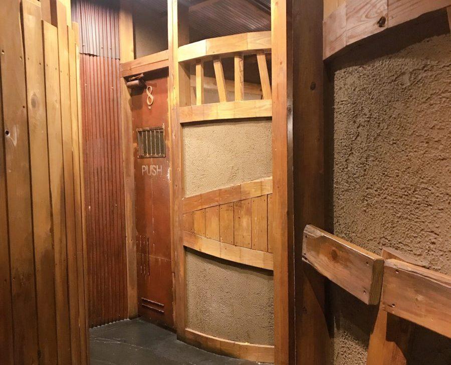 ラーメンジャンクスの個室