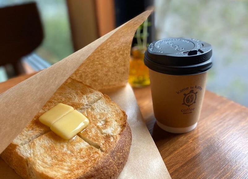 トーストとコーヒー