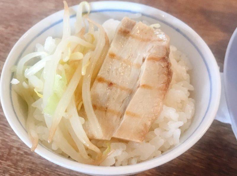 ミニチャーシュー丼