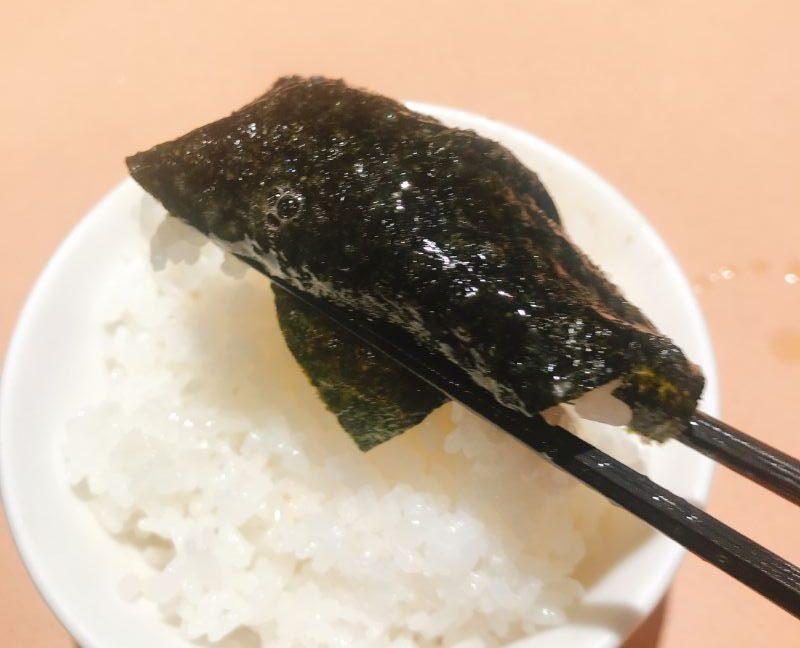 海苔巻きご飯