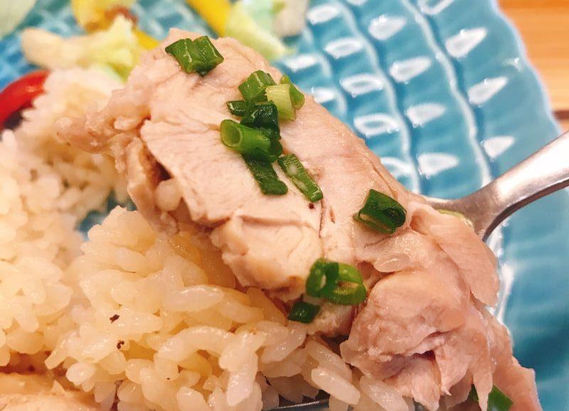 鶏肉とご飯