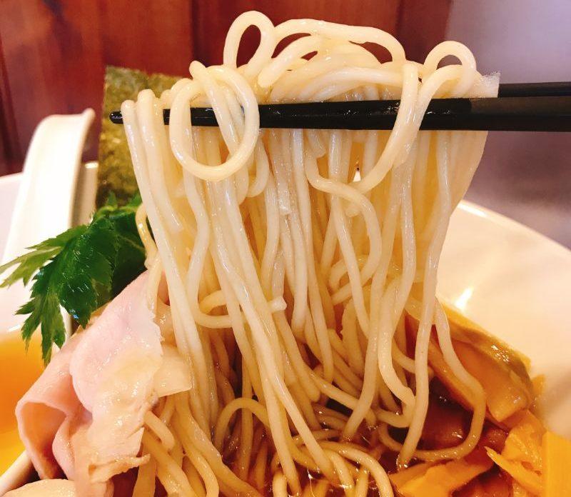 中華ソバの麺